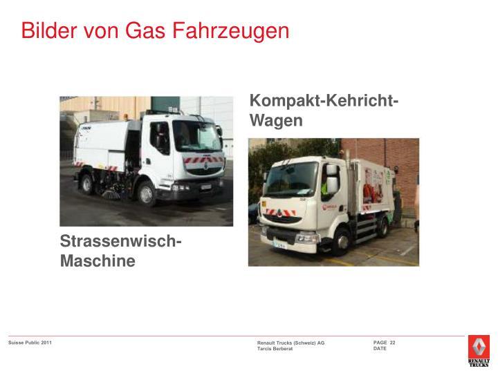 Bilder von Gas Fahrzeugen