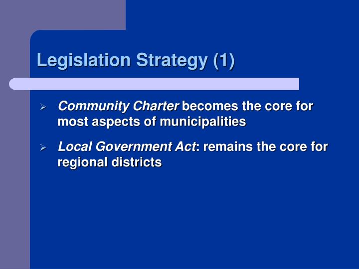 Legislation Strategy (1)