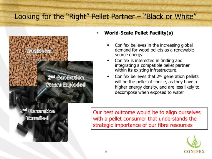 "Looking for the ""Right"" Pellet Partner – ""Black or White"""