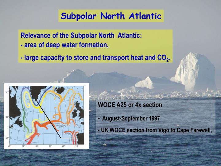 Subpolar North Atlantic