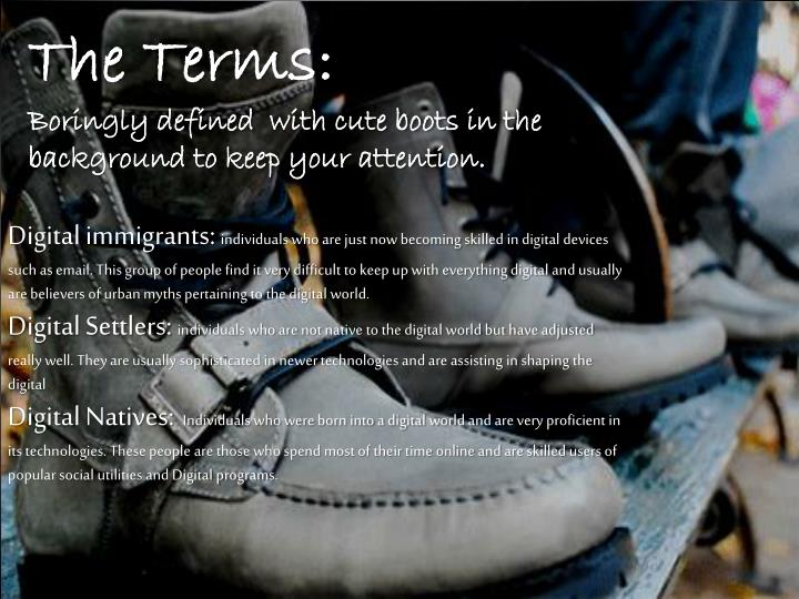 The Terms:
