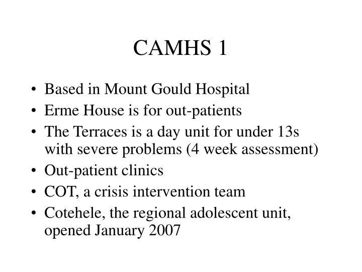 CAMHS 1