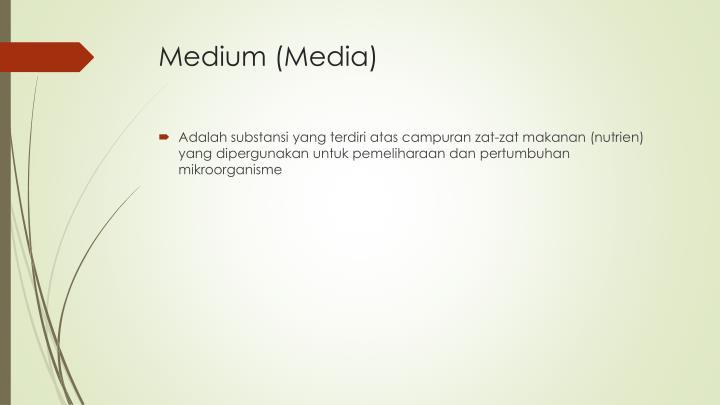 Medium (Media)
