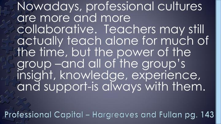 Professional Capital – Hargreaves and