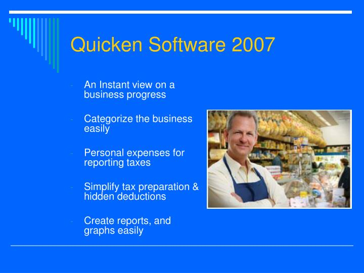 Quicken Software 2007