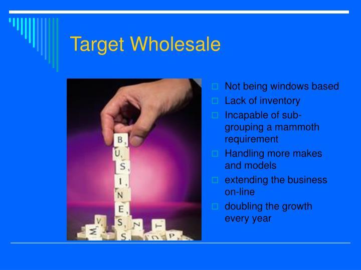 Target Wholesale