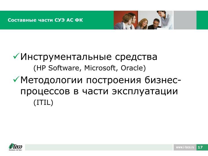 Составные части СУЭ АС ФК