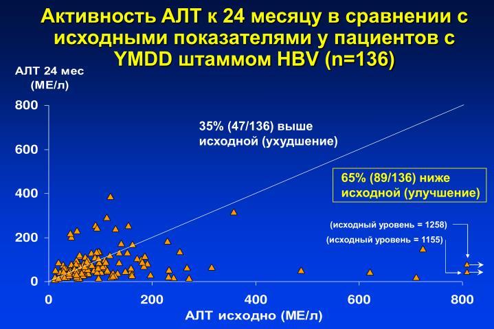 AT  24           YMDD  HBV (n=136)