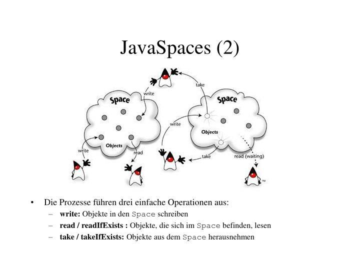 JavaSpaces (2)