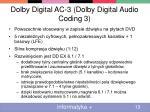 dolby digital ac 3 dolby digital audio coding 3