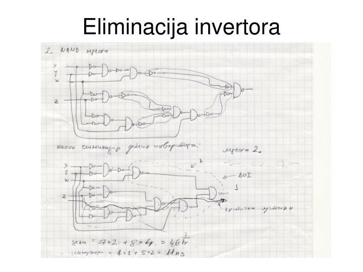 Eliminacija invertora