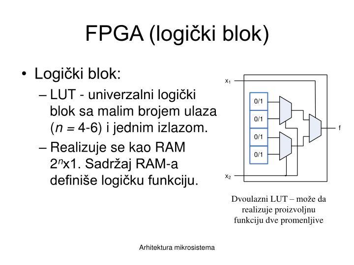 FPGA (logički blok)