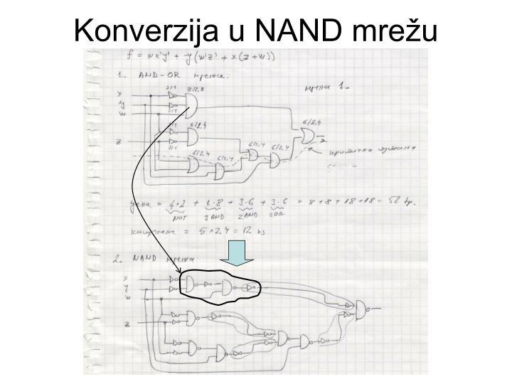 Konverzija u NAND mrežu