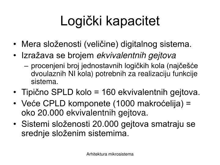 Logički kapacitet