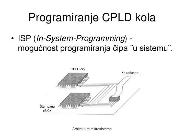 Programiranje CPLD kola