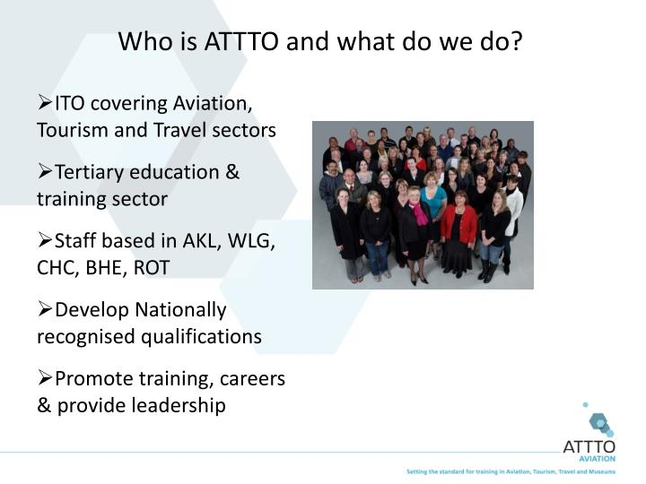 Who is ATTTO and what do we do?