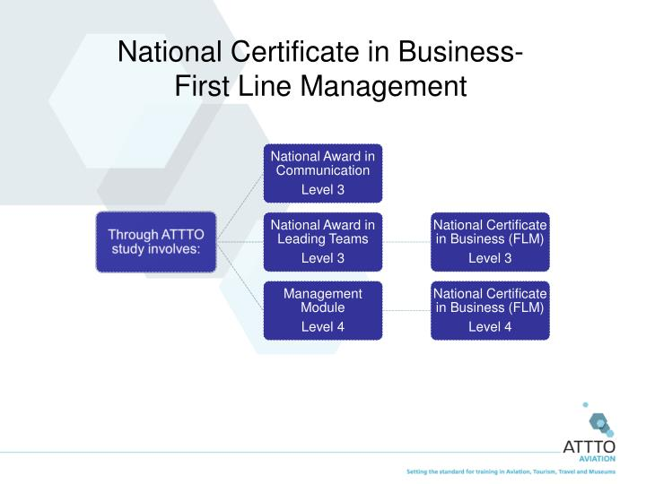 National Certificate in Business-