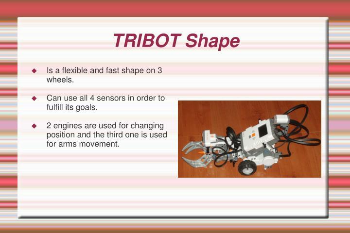 TRIBOT Shape