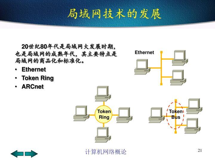 局域网技术的发展