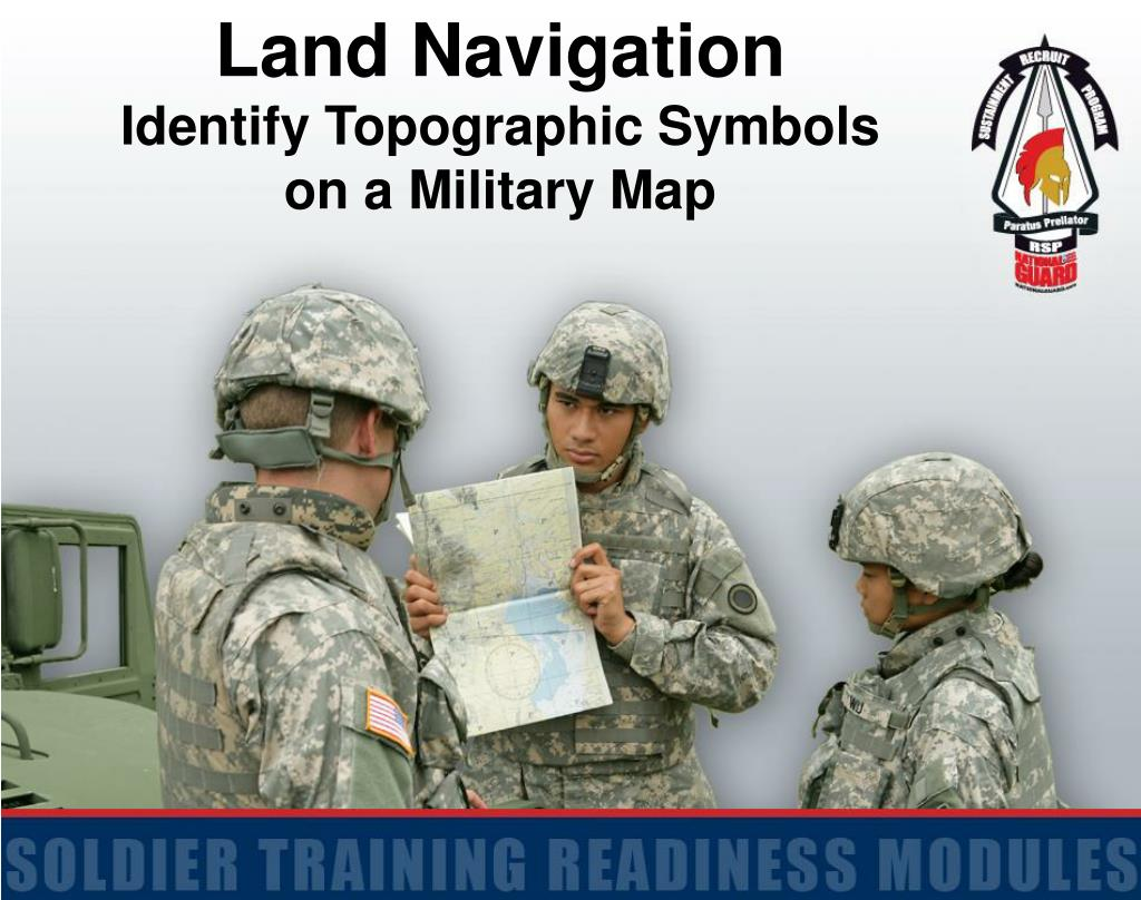 Ppt Land Navigation Identify Topographic Symbols On A