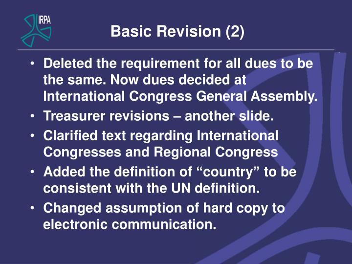 Basic Revision (2)