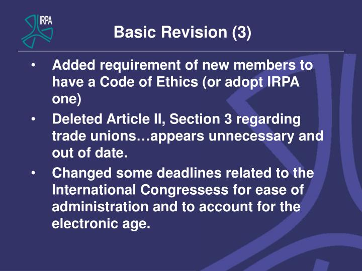 Basic Revision (3)