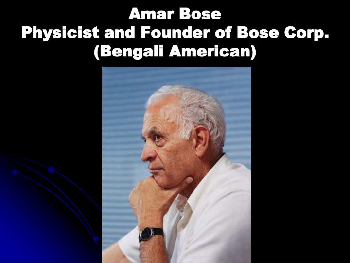 Amar Bose