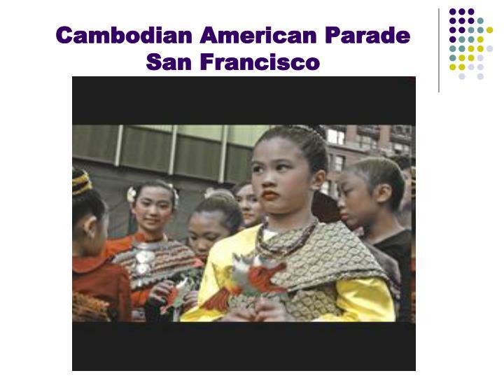 Cambodian American Parade