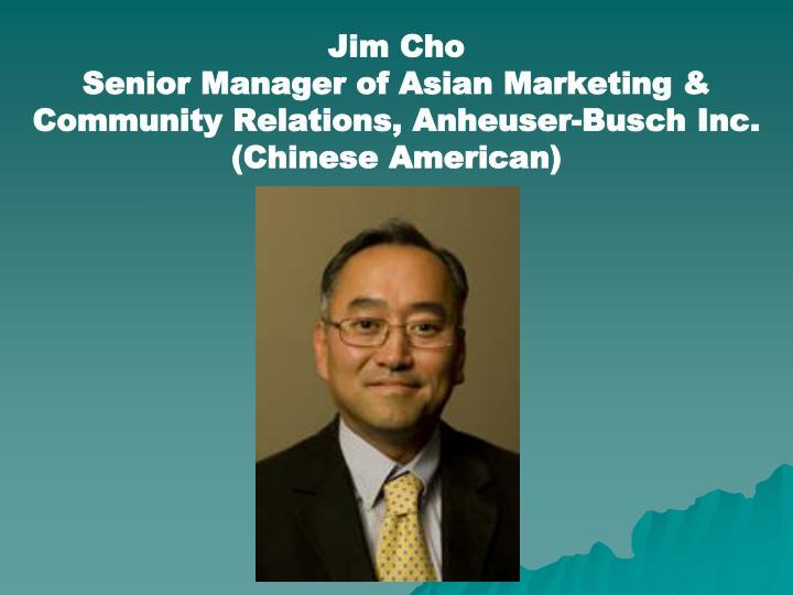 Jim Cho
