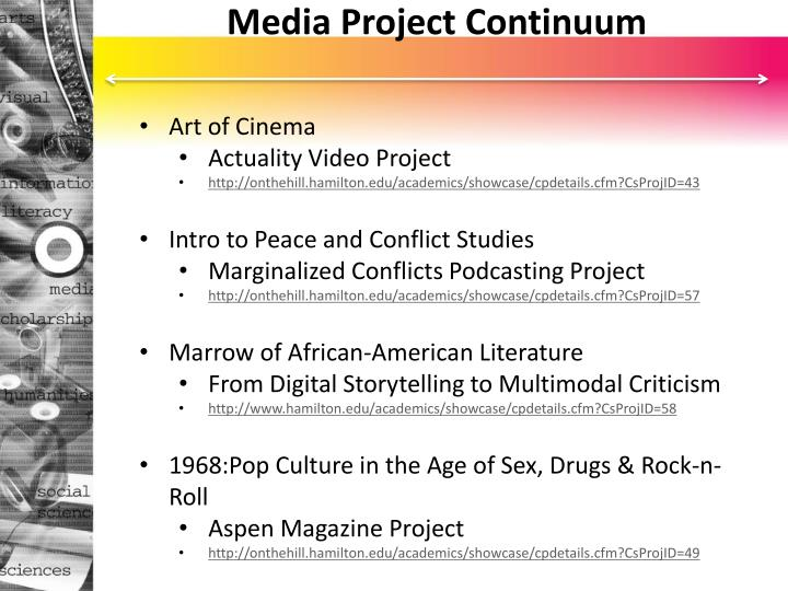 Media Project Continuum