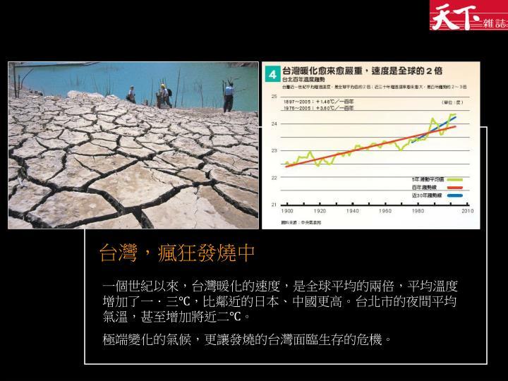 台灣,瘋狂發燒中