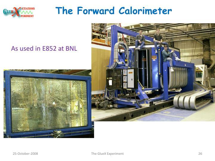 The Forward Calorimeter