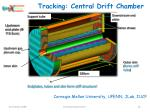 tracking central drift chamber