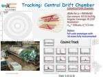tracking central drift chamber1