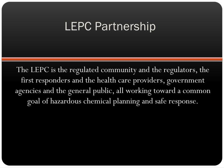 Lepc partnership