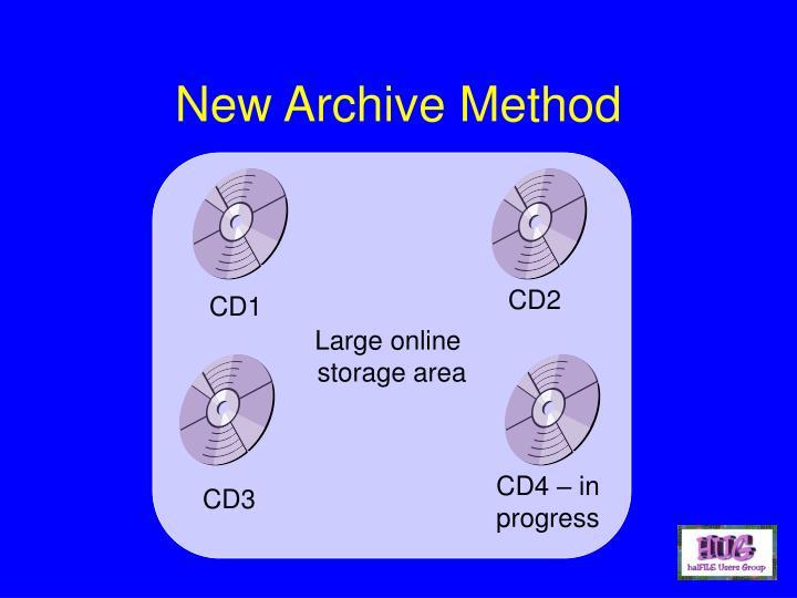 New Archive Method