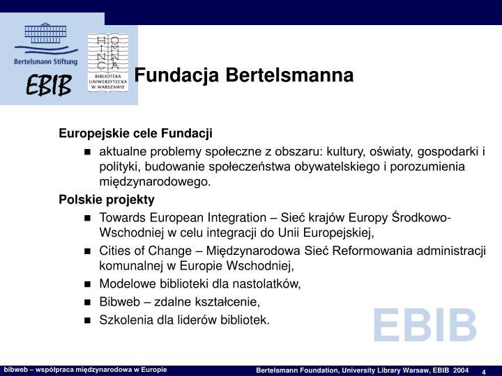 Fundacja Bertelsmanna