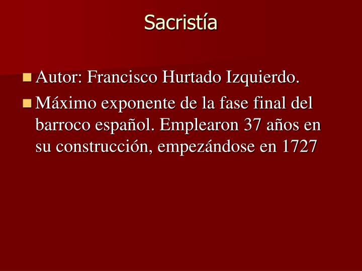 Sacristía