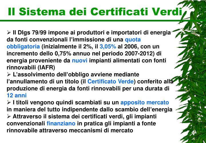 Il Sistema dei Certificati Verdi