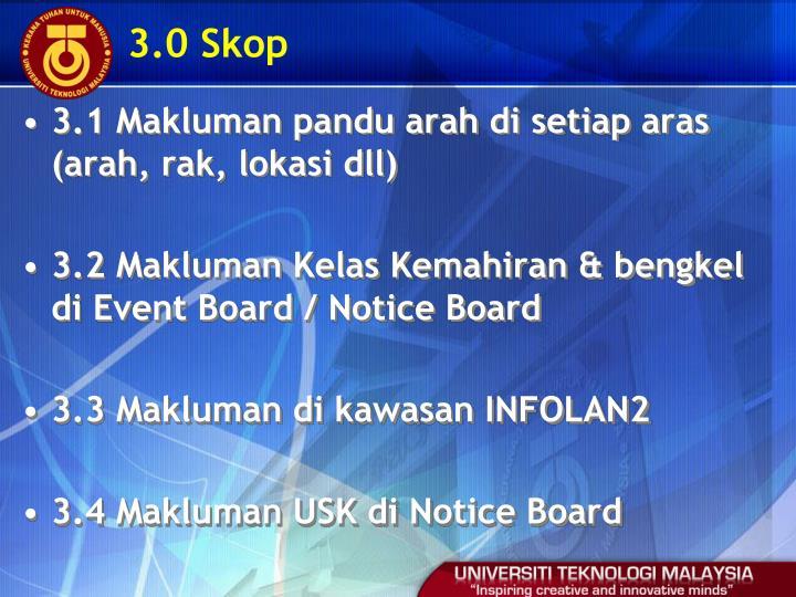 3.0 Skop