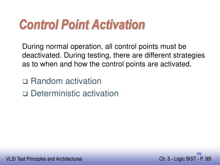 Control Point Activation