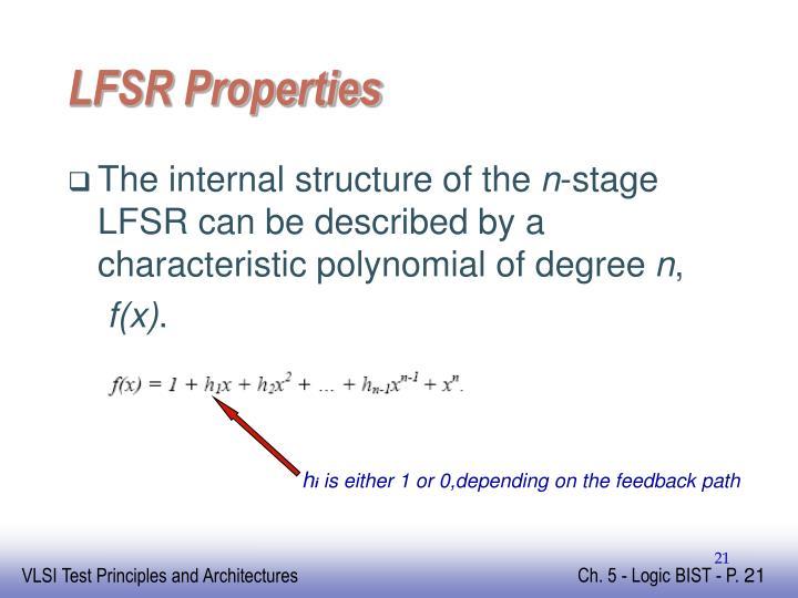 LFSR Properties