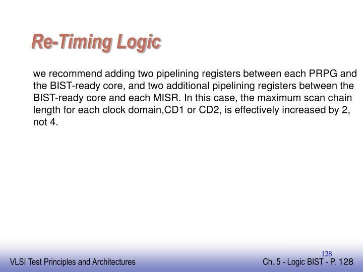 Re-Timing Logic