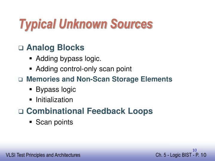 Typical Unknown Sources