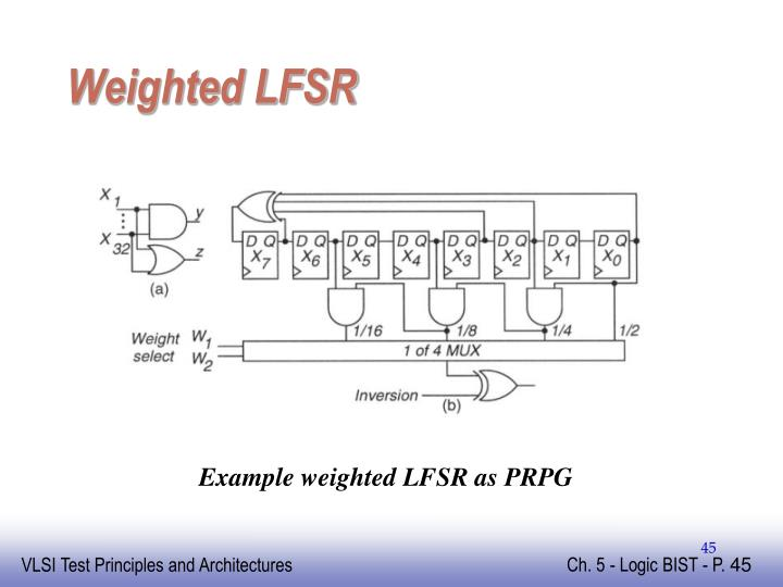 Weighted LFSR