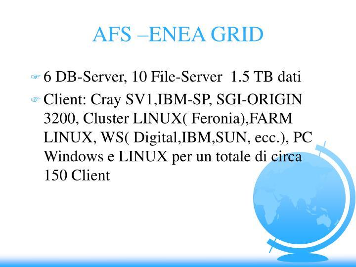 AFS –ENEA GRID