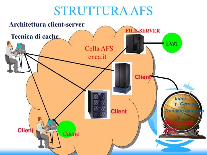 STRUTTURA AFS
