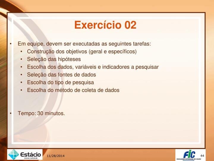 Exercício 02
