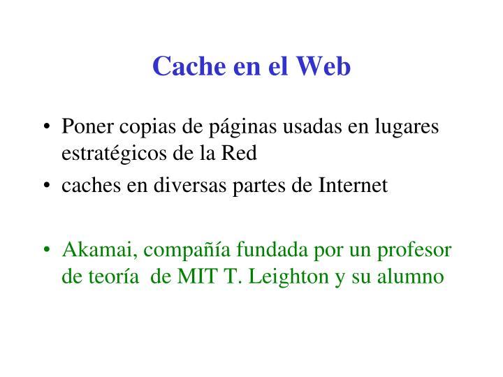 Cache en el Web
