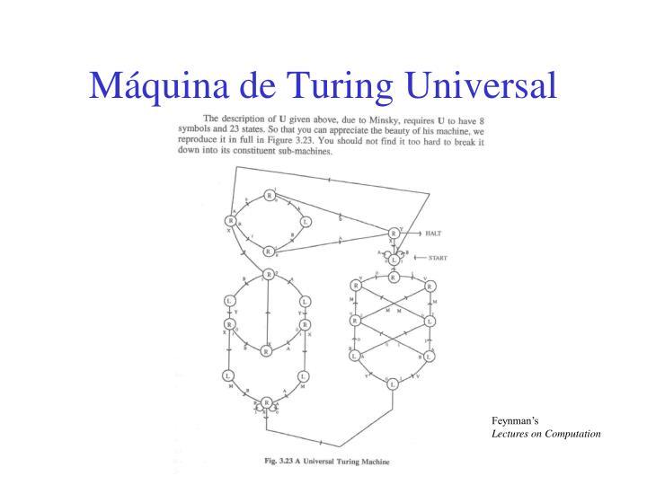 Máquina de Turing Universal